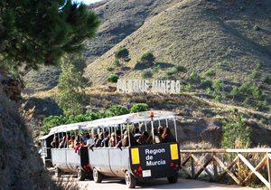 Tren minero. / Cedida por: Parque Minero de La Unión.