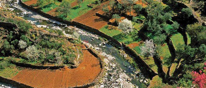 Río Malvellido a su paso por Nuñomoral