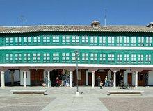 Panorámica de la Plaza Mayor de Almagro