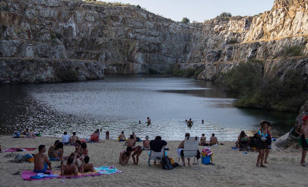 Alcántara: Playa de La Cantera. Foto: Hugo Palotto