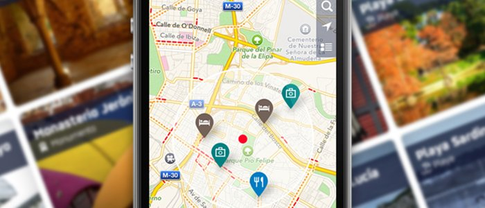 Aplicación móvil de Guía Repsol