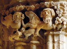 Capitel del Monasterio de Santes Creus