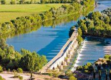 Puente romano sobre el Duero, en Toro