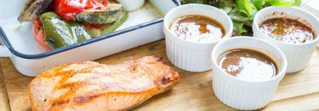 El pescado a la brasa es una buena y sana opción
