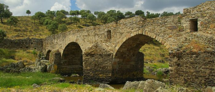 Puente romano, Aliseda