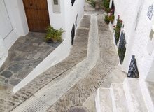 Calle típica de La Alpujarra