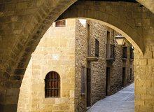 Calle del casco histórico de Sos del Rey Católico