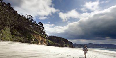 Playa salvaje de Cariño
