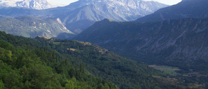 Panorámica del valle de Benasque