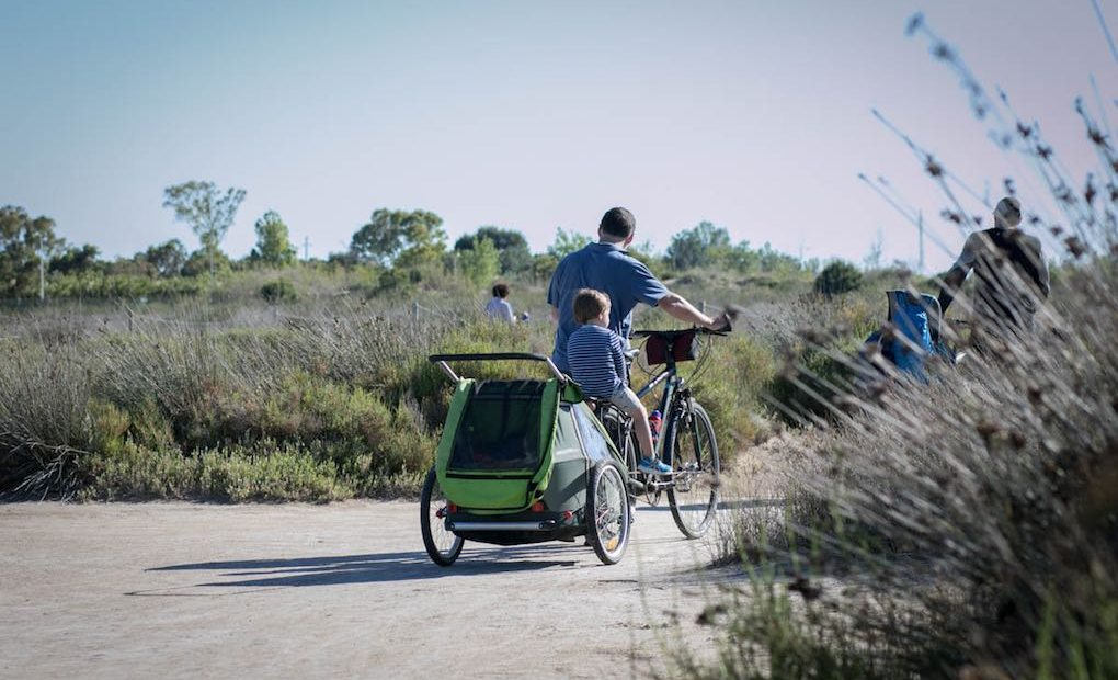 Ruta en bici Riumar. Foto: Pekebikers