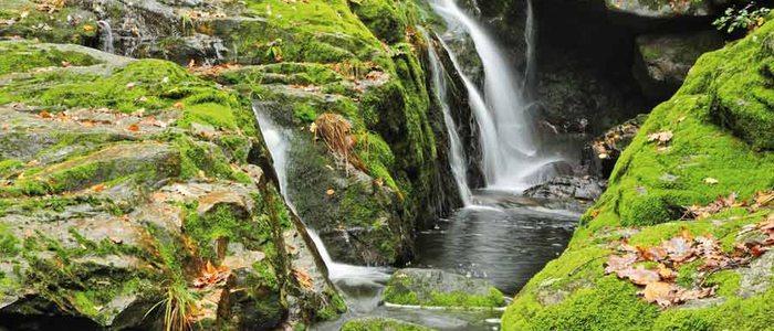 Cascadas del río Toxa