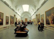 Vista interior del Museo del Prado