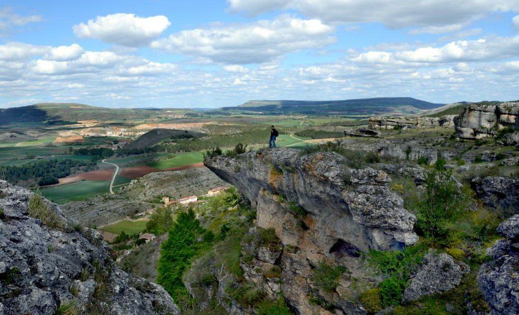 Las Tuerces. Geoparque de Las Loras. Palencia. Castilla y León.