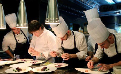 Cocina del ABac Barcelona