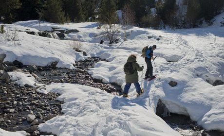 Raquetas de nieve en la Vall de Boí Taüll | Guía Repsol