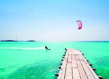 Deportes acuáticos en aguas de Formentera