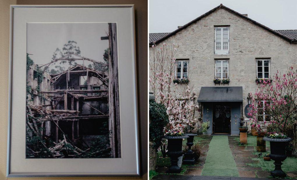 Apertura_El antes y el después del hotel A Quinta da Auga (Santiago de Compostela). Foto: Nuria Sambade