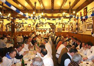 Cena en la sociedad Gaztelubide