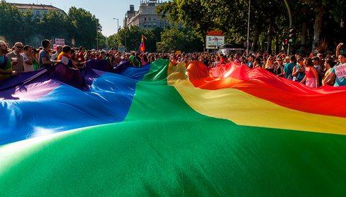 Día del Orgullo Gay, Madrid. Foto: shutterstock