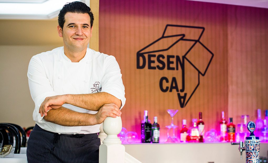 Desencaja: Iván Sáez, chef del restaurante Desencaja. Madrid. Foto: Restaurante Desencaja