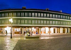 Plaza Mayor de Almagro. / Cedida por: Turismo de Almagro.