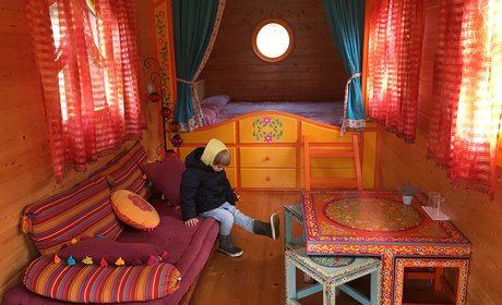 Dormir en cíngaros: Alojamiento 'Cabañas en los árboles' (Zeanuri, Vizcaya)   Guía Repsol