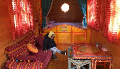 Dormir en cíngaros: Alojamiento 'Cabañas en los árboles' (Zeanuri, Vizcaya) | Guía Repsol