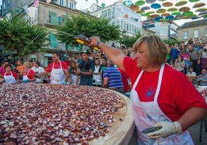Fiesta del pulpo de O Carballiño. Foto: Facebook Festa do Pulpo do Carballiño