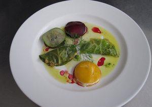 Plato de la cocina del Restaurante Aguaviva
