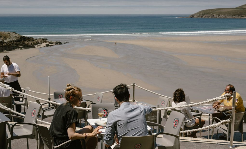 Bar Playa Lires. Foto: Nuria Sambade