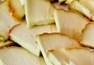 Delicias de queso de la zona