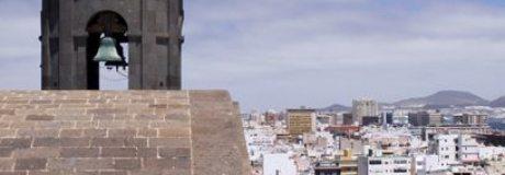 Vista tejados del barrio de la Vegueta