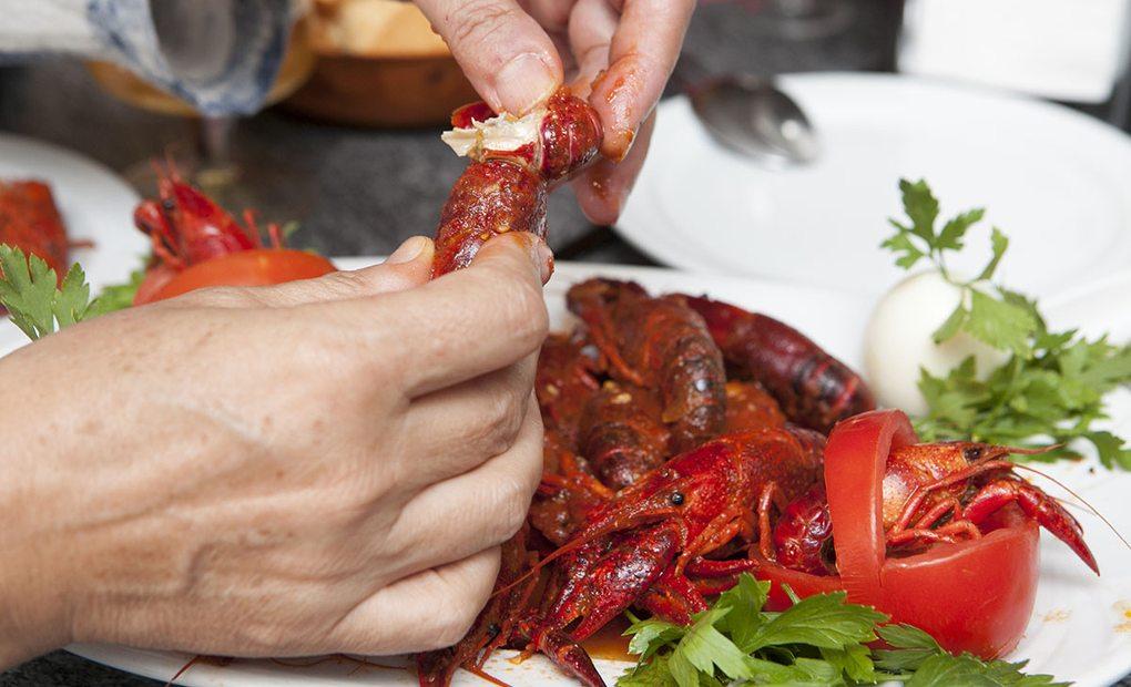 Cangrejos rojos guisados, Herrera de Pisuerga