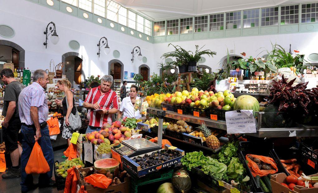 Mercado Municipal de la Palma. Foto: Agestock
