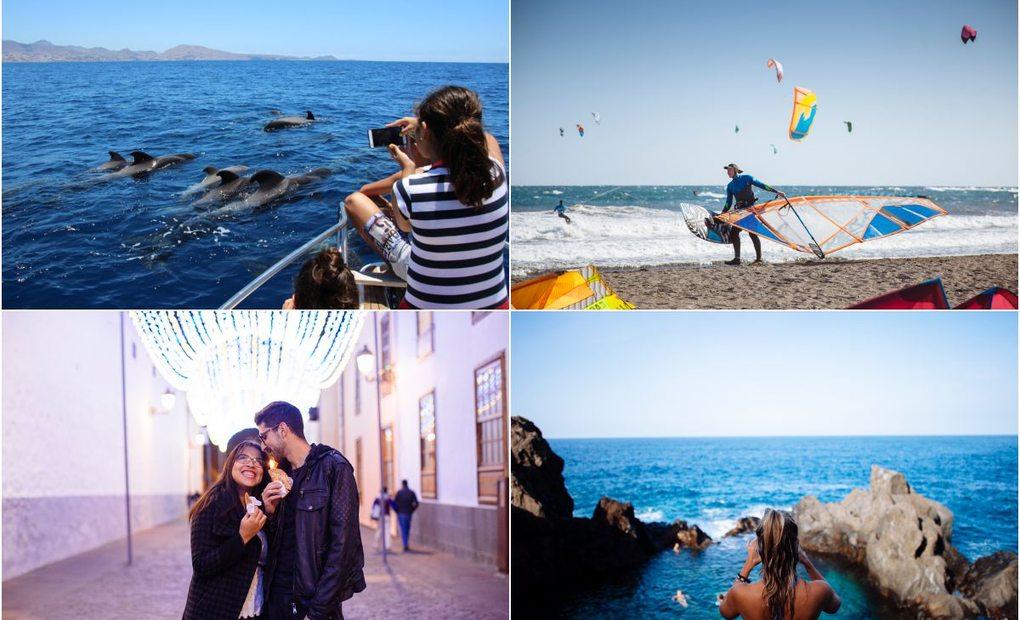 Apertura_Collage de diferentes planes en Tenerife. Fotos: Rocío Eslava
