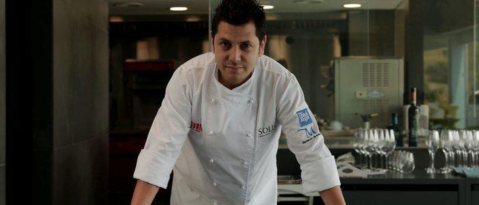Diego Gallegos en su restaurante de Fuengirola