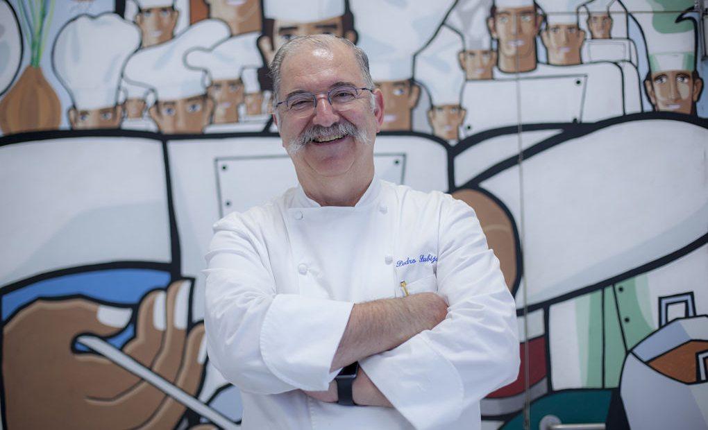 Retrato del chef Pedro Subijana.