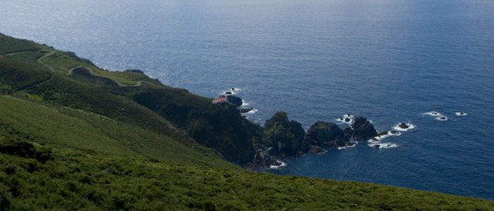 Faro cerca de Cedeira