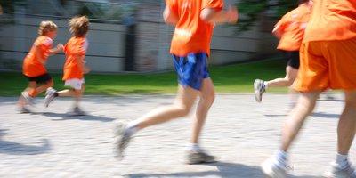 Deporte en familia. Carrera de 2km para menores de 14 años.