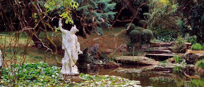 Jardines del Pazo de Sistallo, en Cospeito