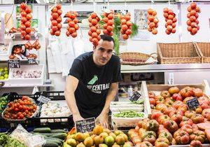 Mercado Central Valencia. Tomates Irene. Fotos: Eva Mañez