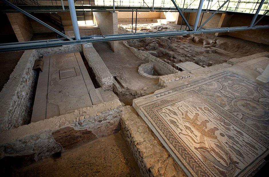 Yacimiento arqueológico Casa de Hippolytus