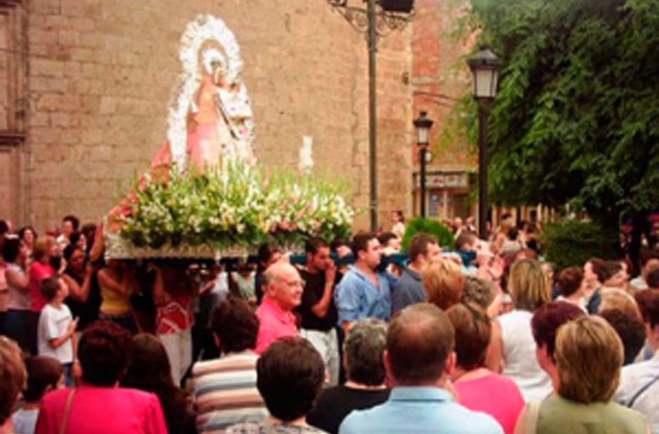 Romería de la Virgen de la Estrella en Navas de San Juan