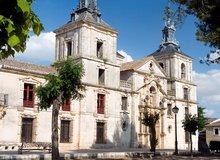 Fachada del palacio de Goyeneche, en Nuevo Baztán