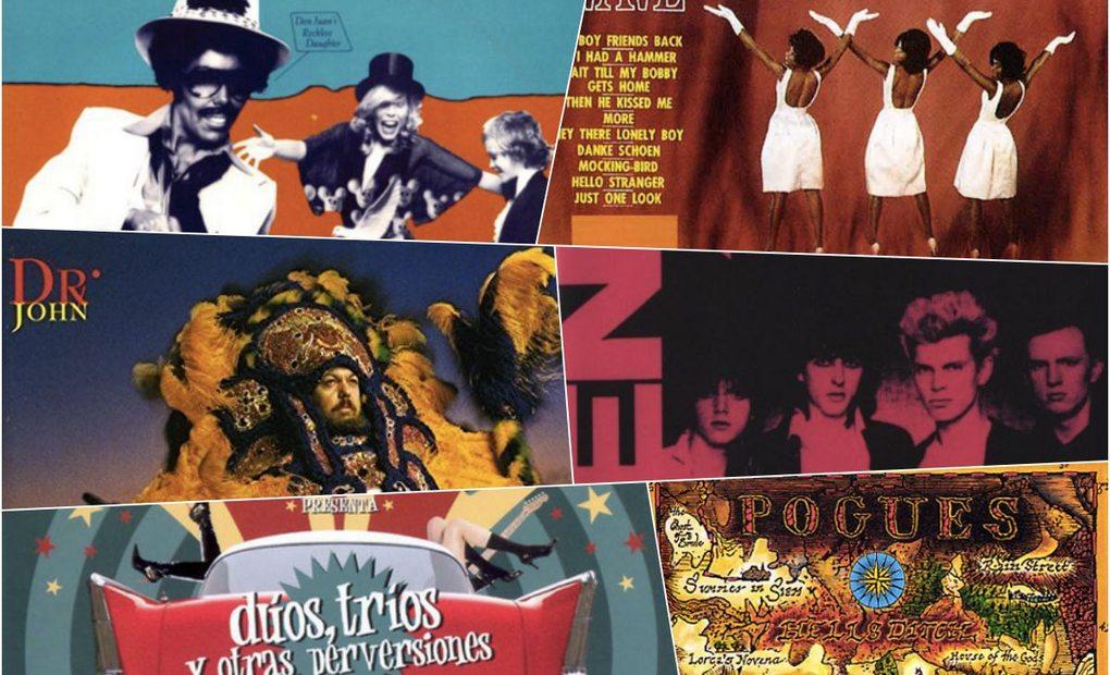 Apertura de varios discos. Fotos: Facebook