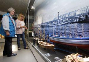 Apertura. Exposición atún almadrabas Benidorm. Foto: ÁNGEL GARCÍA CATALÁ
