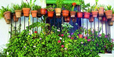 Balcón de una calle de Aracena