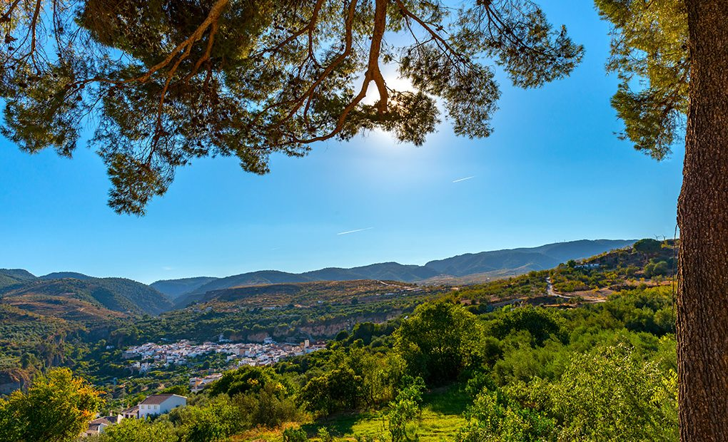 Albuñuelas. Valle de Lecrín. Foto: shutterstock
