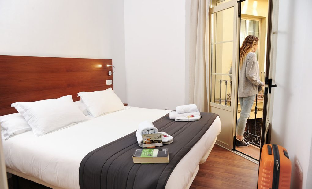 Apartamentos Minimal Rooms, Málaga. Fotos: Jorge Ogalla