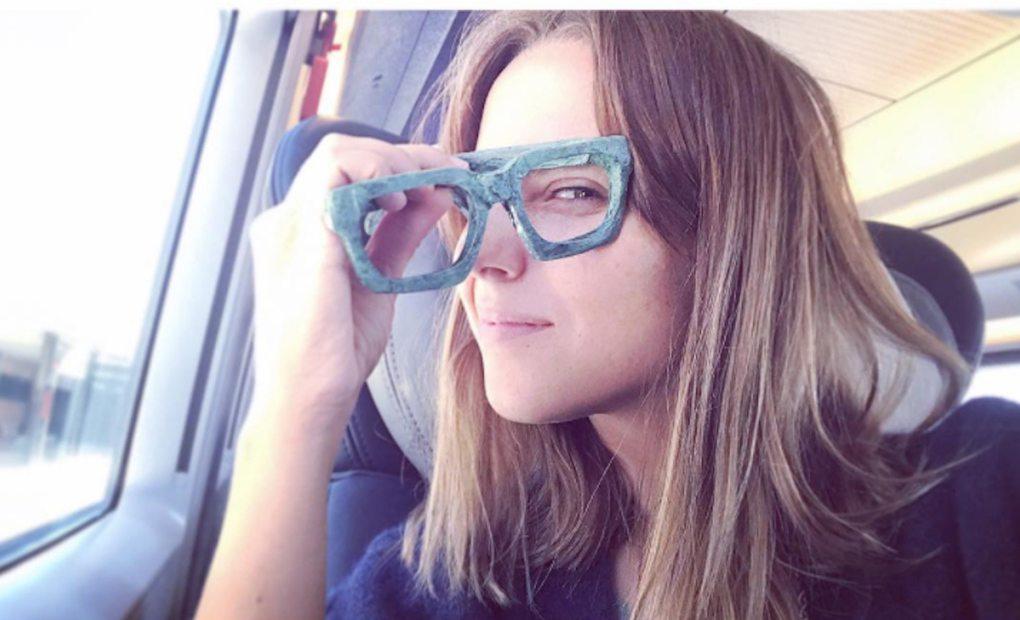 Aura Garrido de viaje. Foto: Instagram